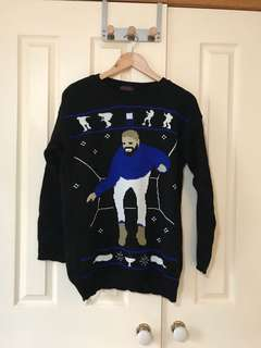 Ugly drake oversized sweater