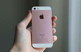 IphoneSE 64Gb 玫瑰金