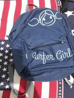 Tas bagpack surfer girl