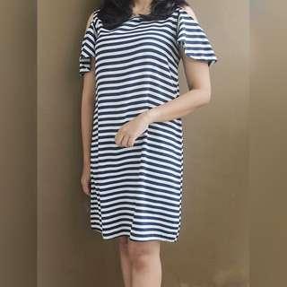 Black&White Stripe Dress
