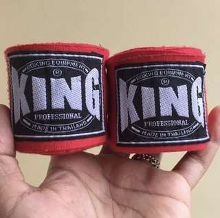 Boxing Hand Wraps Muay Thai King