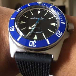 Vostok Amphibia Automatic 200M Dive Watch