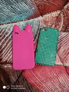 Casing Hp I Phone 4 Rubber / Hardcase