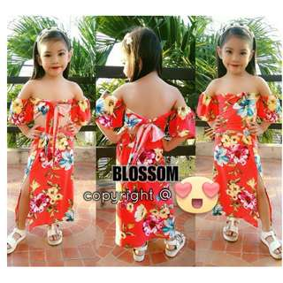 NEW DAILY BLOSSOM SET FOR KIDS (S LARGE)