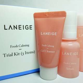 AUTHENTIC LANEIGE Fresh Calming Trial Kit