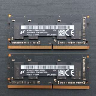 Apple's RAM DDR4 2400 4GB x 2 Brand New
