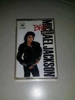 Michael Jackson - Bad Cassette