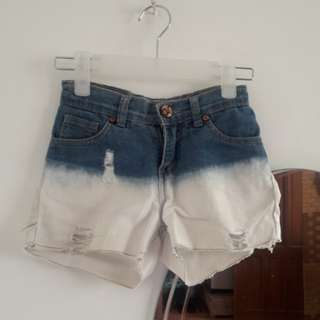 Grizzly Ombre Ripped Short