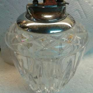 Vintage Crystal Table Lighter