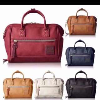 Anello Mini Boston Slingbag LEATHER