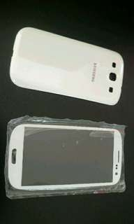 Samsung s3 glass screen and cover