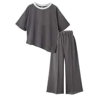 1 set Grey blouse & pants