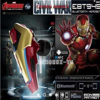 Avengers ( Iron Man ) Bluetooth Wireless Headset E-Blue / EBT945