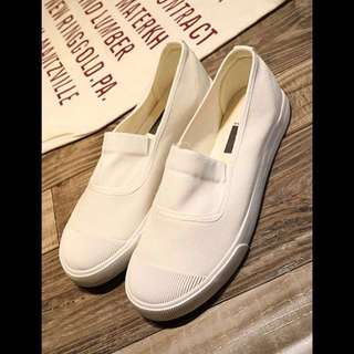 White SlipOn Cozy Shoes