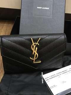 Authentic Saint Laurent YSL wallet