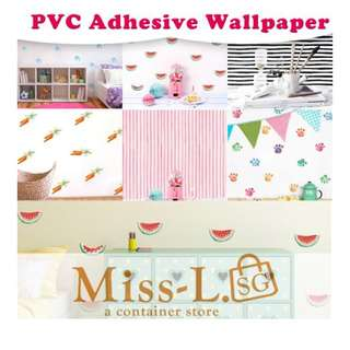 👣 PVC ADHESIVE WALLPAPER