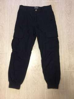 Dickies 黑色束腳褲