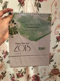 Kalender zap 2018