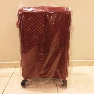 BN SK-II / SKII / SK-2 / SK2 Travel Luggage, hot red