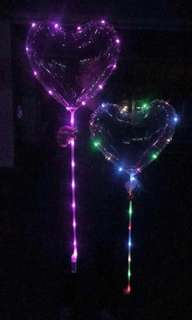 Balloon with led lights