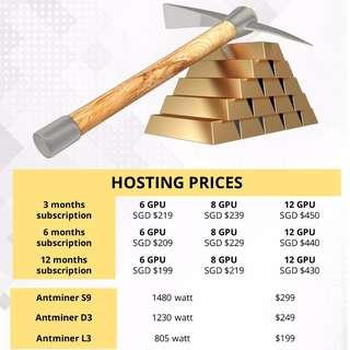 Mining Rig Hosting Services