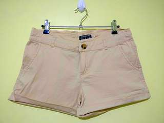 Cotton On Khaki Mid-Rise Shorts