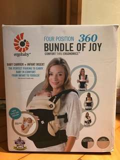 Ergobaby All Position 360 Baby Carrier with infant insert