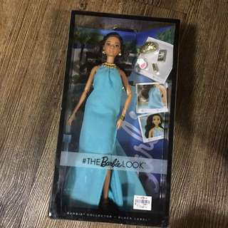 The Barbie Look BlCk Label in Blue Dress