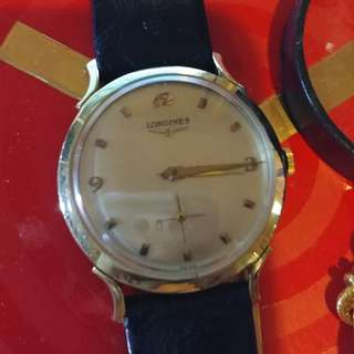 Longines Fancy Lug 14K Watch