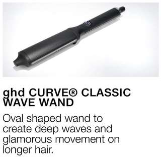 *Unused* U.P. $220!! Classic GHD Hair Styling Curl / Wave Wand - Prestige Designer Brand