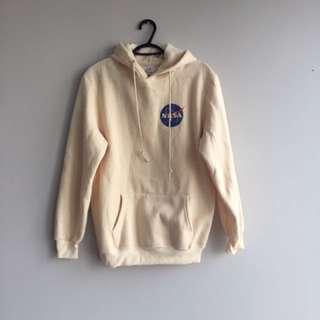 NASA beige hoodie