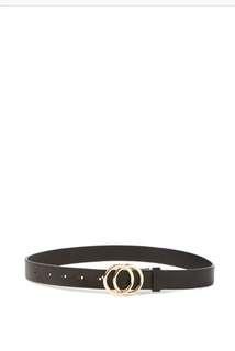 Double hoop belt