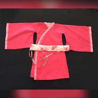 Japanese Kimono Costume for Girls (Size 2T)