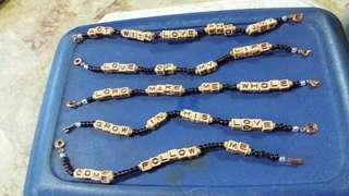 Bracelet Wordings