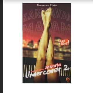 "Novel Terlaris Ebook "" Jakarta Undercover 2"". 218 halaman"