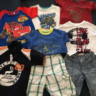 Clothes for boys (Size 6-7) P380 for all