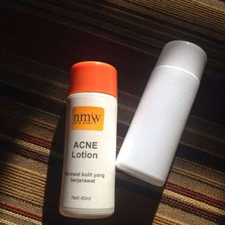 Acne lotion&facial wash acne NMW