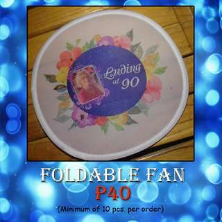 Personalized Foldable Fan