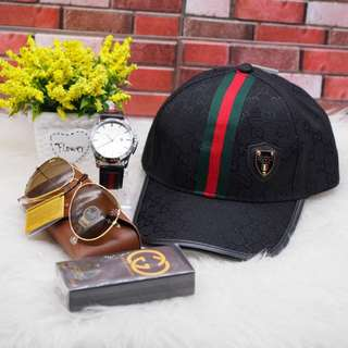 Set cap gucci