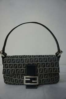 Fendi Canvas Handbag Authentic Original