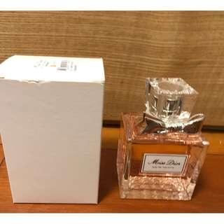 全新正品 Christian Dior Miss Dior EDT 100ml tester with box brand new
