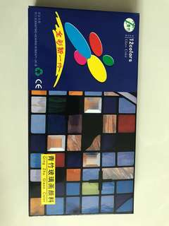 Glass paint colours in tubes - new unopened