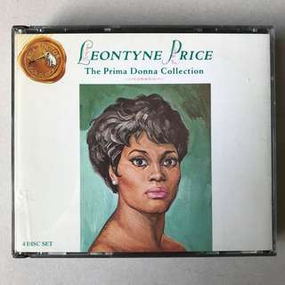 Leontyne Price The Prima Donna Collection 4-CD set