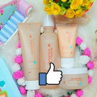 Balancing skin care set - cleanser, toner, day and night moisturisers