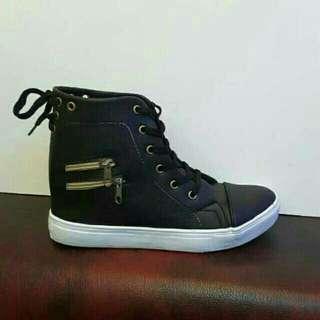 Boots HPD387 hitam / putih