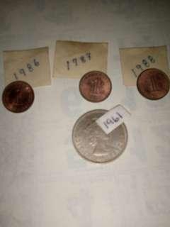 Duit syiling lama untuk dilepaskan
