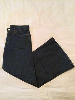 Levi's size 30 wide leg/flares jeans