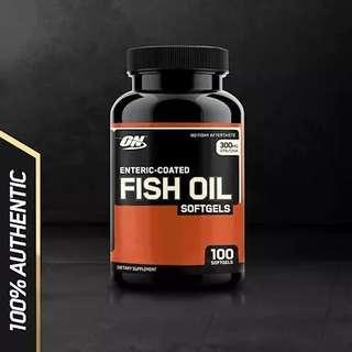 Optimum Nutrition Fish Oil Soft Gels
