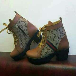 Boots HPD391 tan / hitam
