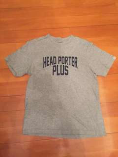 (執屋平放)日本HEAD PORTER PLUS Tee (Size: M)